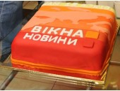 Торт на день народження фірми
