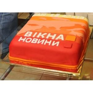 Торт на день народження фірми>